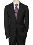 Hart Schaffner Marx Black Bone Worsted Suit 195-389309 - Suits | Sam's Tailoring Fine Men's Clothing