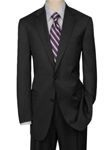 Hart Schaffner Marx Black Slim Stripe Suit 195-750311 - Suits | Sam's Tailoring Fine Men's Clothing