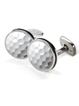 Golfball Boraded Round Cufflink | M-Clip New Cufflinks Collection 2016 | Sams Tailoring