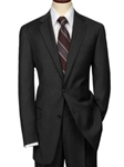 Hart Schaffner Marx Charcoal Worsted Suit 195-750312 - Suits | Sam's Tailoring Fine Men's Clothing