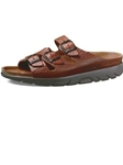 Mephisto Zach - Tan Grain ZACH-445 - Casual Sandals | Sam's Tailoring Fine Men's Clothing