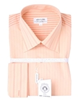 Baby Orange Stripe Dress Shirt