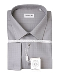 Grey Check Dress Shirt