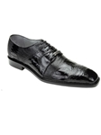 Belvedere Shoes: Moscato Black 1455-BLK |  SamsTailoring  |  Sam's Fine Men's Clothing