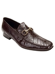 Belvedere Brown Italo Genuine Crocodile and Lizard Leather Shoes 1010 - Fall 2014 Shoe Collection | Sam's Tailoring Fine Men's Clothing