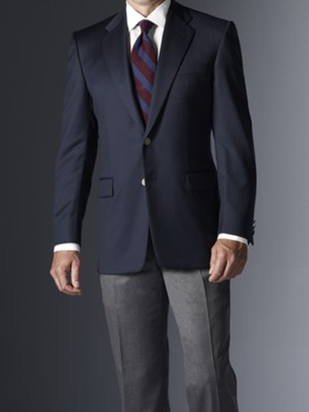 Navy Serge Blazer 001500001204 Hickey Freeman Sportcoats Samstailoring Sam S Fine Men S Clothing