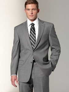 Hart Schaffner Marx Grey Birdseye Suit 978316064 Suits Sam S Tailoring Fine Men S Clothing