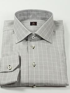 Robert talbott grey check estate shirt f1717b3u view all for Robert talbott shirts sale