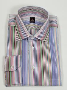 Robert talbott multi stripe estate dress shirt f9380b3u for Robert talbott shirts sale
