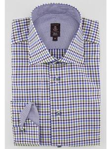 Robert talbott multi color trim ltd estate sutter dress for Robert talbott shirts sale