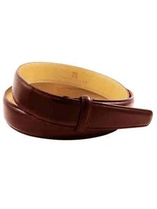 Trafalgar Honey Maple Cortina Leather 1 Inch Belt Strap