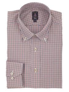 Robert talbott multi colored check trim fit estate dress for Robert talbott shirts sale