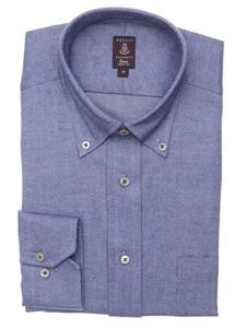 Robert talbott navy solid trim fit estate dress shirt for Robert talbott shirts sale