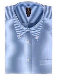 Robert talbott sky blue stripe estate dress shirt c2648e1a for Robert talbott shirts sale