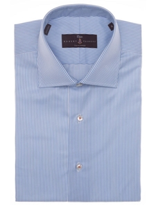 Robert talbott sky royal twill tailored fit estate sutter for Robert talbott shirts sale