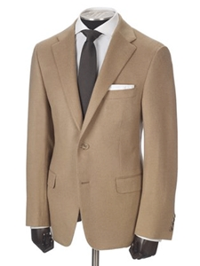 Baby Carmel Hair Notch Labels Cashmere Jacket | Hickey FreeMan Jackets | Sams Tailoring