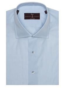 Sky summer poplin estate dress shirt robert talbott for Robert talbott shirts sale