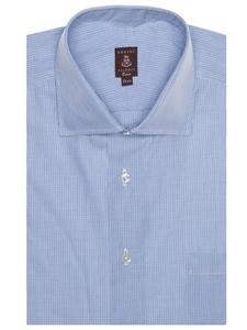 Sky and white plaid estate sutter hw1 op mc dress shirt for Robert talbott shirts sale