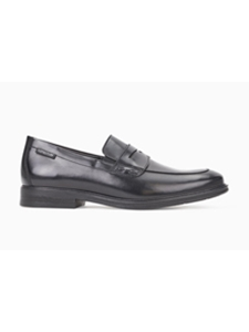 Black Leather Lined Moccasin Nilson Shoe | Mephisto Shoes Fall Collection | Sam's Tailoring Fine Men's Clothing