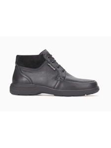 Black Suede Lace Up Ankle Darwin Boot | Mephisto Shoes Fall Collection | Sam's Tailoring Fine Men's Clothing