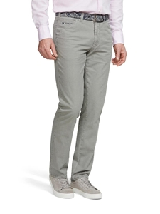 Stone Chicago Micro Structure Cotton Chino | Meyer Trousers/Chinos |  Sam's Tailoring Fine Men Clothing