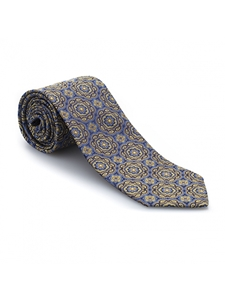 Yellow, Blue and Navy Heritage Best of Class Tie | Best of Class Ties Collection | Sam's Tailoring Fine Men Clothing
