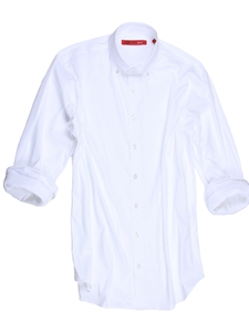 White Bora Bora Luxe Stretch Big & Tall Shirt | Georg Roth Big & Tall Shirts | Sams Tailoring Fine Mens Clothing