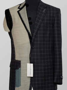 Jhane Barnes Suit Outerwear Topcoat Collection 544107