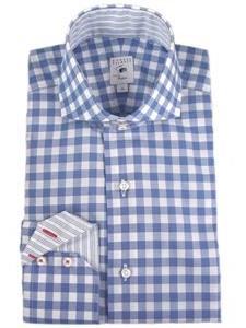 Robert talbott carmel navy estate shirt m1455d4p 01 view for Robert talbott shirts sale