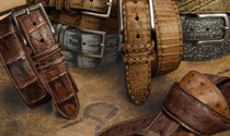 Torino Leather Fine Belts Collection | Sam's Tailoring Fine Men's Clothing