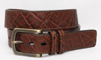Torino Leather Exotic Belts Collection | Sam's Tailoring Fine Men's Clothing