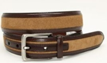 Torino Leather Dress Casual Belts Collection | Sam's Tailoring Fine Men's Clothing