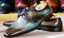Paul Parkman Derby Shoes | Men Handmade Shoes | Sam's Tailoring Fine Men's Clothing