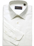 F.A. MacCluer White 100's 2 Ply Classic Twill Spread Collar I612461-001 - Dress Shirts | Sam's Tailoring Fine Men's Clothing