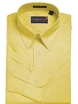 F.A. MacCluer Yellow Classic Pinpoint Buttondown I700480-100 - Dress Shirts Solids | Sam's Tailoring Fine Men's Clothing