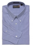 F.A. MacCluer Blue Classic Pinpoint Buttondown I700480-500 - Dress Shirts Solids | Sam's Tailoring Fine Men's Clothing