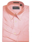 F.A. MacCluer Pink Classic Pinpoint Buttondown I700480-700 - Dress Shirts Solids | Sam's Tailoring Fine Men's Clothing