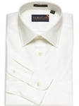 F.A. MacCluer White Classic Pinpoint Solid Spread Collar I700460-001 - Dress Shirts Solids 80s 2PLY Shirts | Sam's Tailoring Fine Men's Clothing