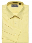 F.A. MacCluer Yellow Classic Pinpoint Solid Spread Collar I700460-100 - Dress Shirts Solids 80s 2PLY Shirts | Sam's Tailoring Fine Men's Clothing