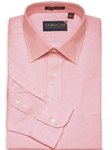 F.A. MacCluer  Pink Classic Pinpoint Solid Spread Collar I700460-700 - Dress Shirts 80s 2PLY Shirts | Sam's Tailoring Fine Men's Clothing