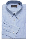 F.A. MacCluer Blue Classic Bengal Stripe Buttondown Dress Shirts I617481-500 - Dress Shirts Patterns and Stripes | Sam's Tailoring | Fine Men's Clothing Fine Men's Clothing