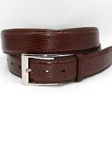 Cognac Genuine Lizard Belt 5157 - Torino Leather Exotic Belts | Sam's Tailoring Fine Men's Clothing