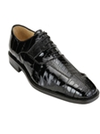 Belvedere Black Mare Genuine Leather Shoes 2P7 - Spring 2015 Collection Shoes | Sam's Tailoring Fine Men's Clothing