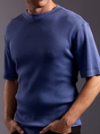 Waffle Knits Polos & Tees Collection 21123C00 - Jhane Barnes | SamsTailoring | Fine Men's Clothing