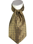 Gold Handsewn Andover Ascot 041002O-03 - Robert Talbott Ascot | Sam's Tailoring Fine Men's Clothing