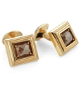 Tateossian London 18 Karat Precious Cufflinks - Red Diamond & Rose Gold CL1222 - 18k Carat Gold Cufflinks | Sam's Tailoring Fine men's Clothing