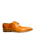 Belvedere Burned Amber Siena Genuine Ostrich Leather Shoes 1463 - Spring 2015 Collection Shoes | Sam's Tailoring Fine Men's Clothing