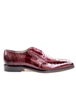 Belvedere Burgundy Siena Genuine Ostrich Leather Shoes 1463 - Spring 2015 Collection Shoes | Sam's Tailoring Fine Men's Clothing