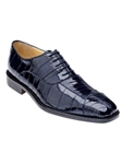 Belvedere Navy Mare Genuine Leather Shoes 2P7 - Spring 2015 Collection Shoes | Sam's Tailoring Fine Men's Clothing