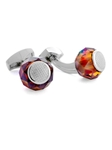 Tateossian London RT SW Rolling Rock - Red CL2783 - Cufflinks | Sam's Tailoring Fine Men's Clothing